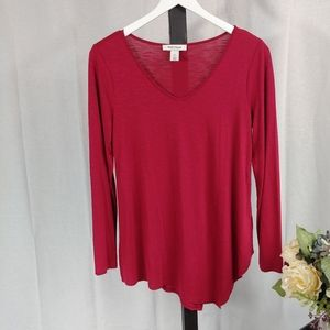 White House Black Market Red Tunic XS.    J05